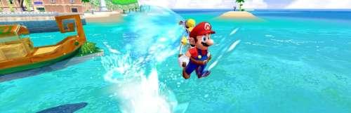 Super Mario 3D All-Stars prend en charge la manette GameCube pour Super Mario Sunshine