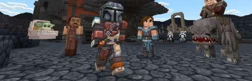 Minecraft s'offre un gros DLC Star Wars