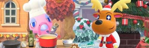 Animal Crossing : New Horizons se met à l'heure d'hiver