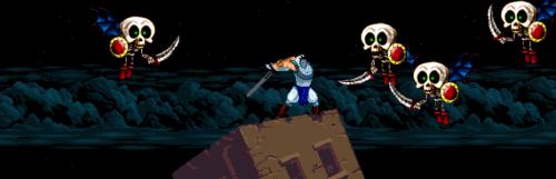 Across the Demon Realm 2 fait dans l'hommage à Ghouls'n Ghosts