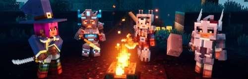 Le cross-play arrive dans Minecraft Dungeons