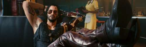 Cyberpunk 2077 : gros plan sur Johnny Silverhand, le personnage de Keanu Reeves