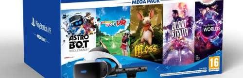 PS VR : un nouveau Méga Pack avec 5 jeux débarque en Europe