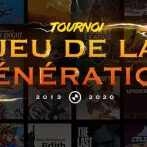 Le jeu de la génération - Le Grand Tournoi : votez pour élire le meilleur jeu de la génération PS4 / Switch / Xbox One
