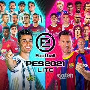 eFootball PES 2021 LITE est disponible gratuitement sur PS4, Xbox One et Steam