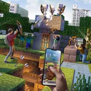 Microsoft fermera Minecraft Earth le 30 juin 2021