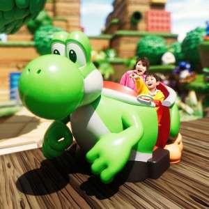Un site et une publicité pour le Super Nintendo World d'Osaka