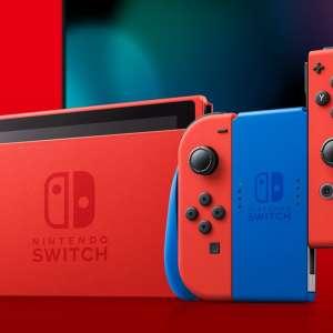 Nintendo sortira une Switch édition Mario (rouge et bleu) le 12 février