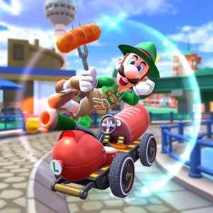 C'est la foire à la saucisse dans Mario Kart Tour