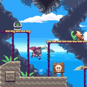 Beard Blade : le jeu de plateforme rétro est de retour avec une fenêtre de lancement