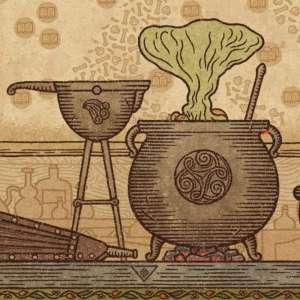 Carnet rose - Dans Potion Craft, on gère son propre atelier d'alchimie