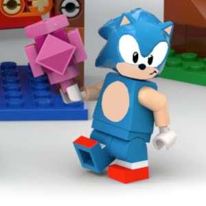 LEGO annonce un set Sonic en collaboration avec SEGA