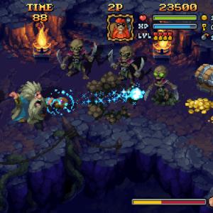 Battle Axe se profile pour avril avec son très joli pixel art