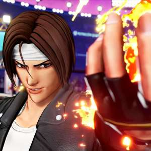 Kyô Kusanagi enflamme The King of Fighters XV