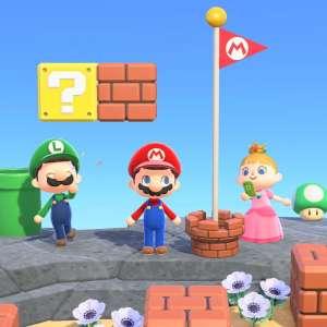 Nintendo direct du 17/02/21 - Voici ce que donnent les objets Mario dans Animal Crossing : New Horizons