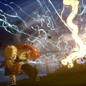 Zenitsu et Inosuke en action dans Demon Slayer : Hinokami Keppûtan