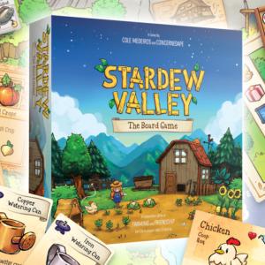 Stardew Valley s'offre un jeu de plateau officiel