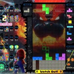 Bowser's Fury a lui aussi droit à son Grand Prix dans Tetris 99