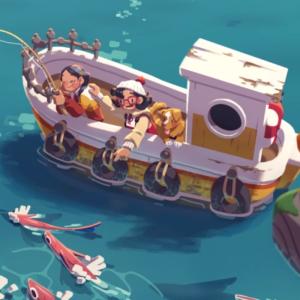 Carnet rose - Moonglow Bay veut faire de vous un pêcheur de voxels