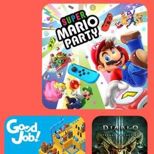 Switch : jusqu'à 75% de remise sur les jeux multijoueur dès demain