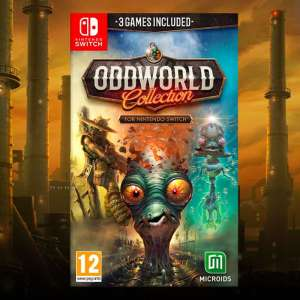 Microïds annonce une Oddworld Collection sur Switch