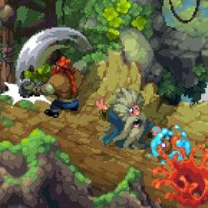 Battle Axe confirme sa sortie pour ce mois-ci avec son séduisant pixel art