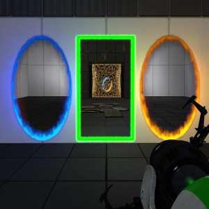 Tournez manette - Dans Portal Reloaded, il faut penser avec un troisième portail