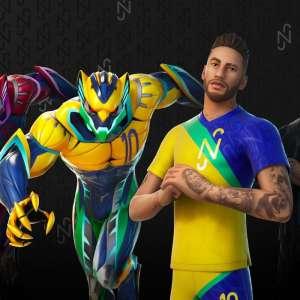 Neymar Jr. enfile ses crampons dans le passe de combat de Fortnite