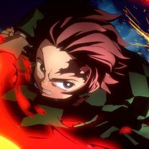 Tanjiro s'enflamme dans Demon Slayer : The Hinokami Chronicles