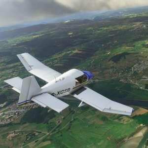 Microsoft Flight Simulator divise sa taille sur le disque par deux