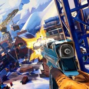 Une nouvelle et longue vidéo de gameplay pour le FPS en VR montagnard, Fracked