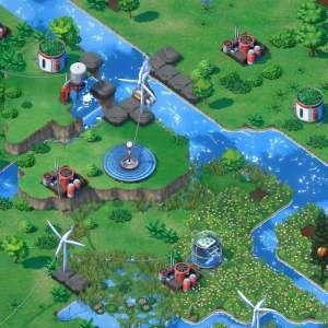 Terra Nil : quand les développeurs de Broforce se lancent dans le jeu de gestion écolo