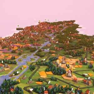 Le jeu de réflexion Dorfromantik affiche sa feuille de route d'accès anticipé