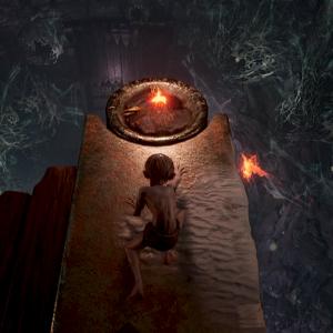Gandalf s'en mêle dans The Lord of the Rings : Gollum