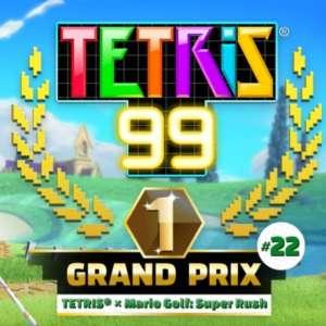 Le Grand Prix Mario Golf : Super Rush de Tetris 99 aura lieu du 9 au 13 juillet