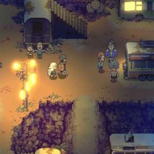 Le jeu d'action-aventure Eastward remontre son joli pixel art