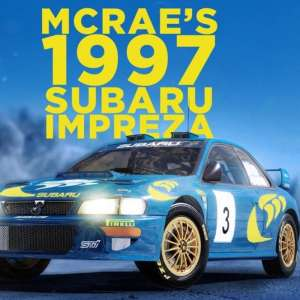 WRC 10 dévoile la Subaru Impreza de Colin McRae