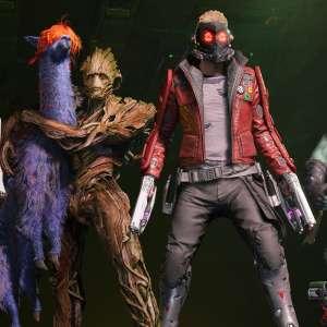 Marvel's Guardians of the Galaxy allume son walkman