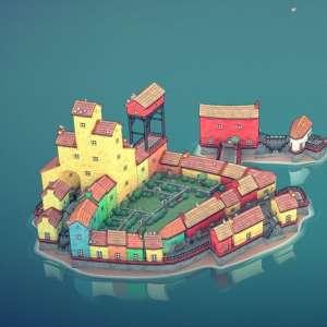 Gamescom 2021   gc2021 - Le très relaxant Townscaper est disponible sur PC et Switch