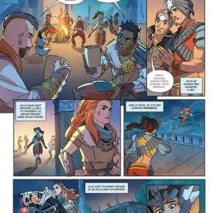 La bande dessinée Horizon Zero Dawn s'annonce en France chez Mana Books