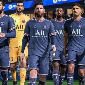 Lionel Messi reste le joueur le mieux noté dans FIFA 22