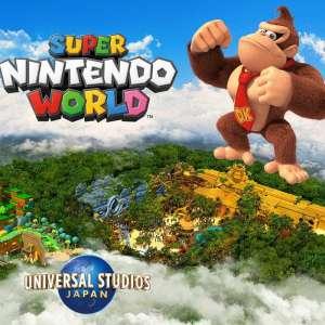 Nintendo annonce une extension Donkey Kong pour son parc Super Nintendo World