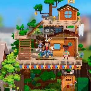 Le RPG en voxel Echo Generation sortira sur PC et consoles Xbox le 21 octobre