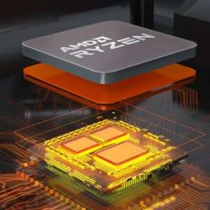 Matez mon matos - AMD annonce des processeurs Zen 3 avec 3D V-Cache pour début 2022