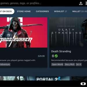 Steam Deck : Valve explique comment savoir si un jeu est compatible avec l'appareil