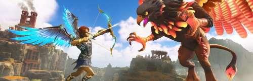 Preview : On est tombé du nid d'Immortals Fenyx Rising, le jeu d'aventure mythologique d'Ubisoft