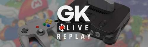 Gk live (replay) - Revivez l'anniversaire de la Nintendo 64 avec les rédacs de JV Le Mag et Gamekult