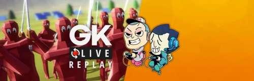 Gk live (replay) - Pipomantis et Noddus jouent à la bagarre sur Totally Accurate Battle Simulator
