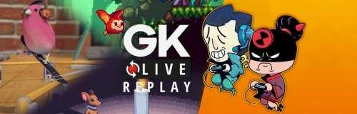 Gk live (replay) - Pipo et Luma jouent les amis des animaux avec SkateBIRD, Small Saga et Eagle Island