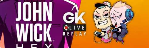 Gk live (replay) - Noddus enfile son costume de Baba Yaga dans le jeu tactique John Wick Hex